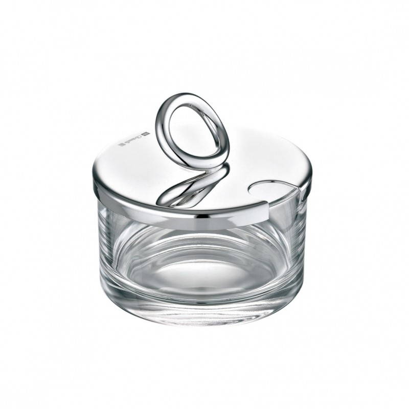 Vertigo Silver-Plated Cheese/ Jam Dish