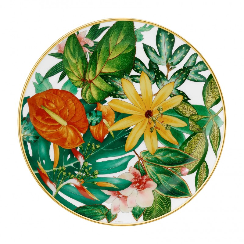 "Passifolia Dessert Plate ""Passiflora"" - Set of 2"