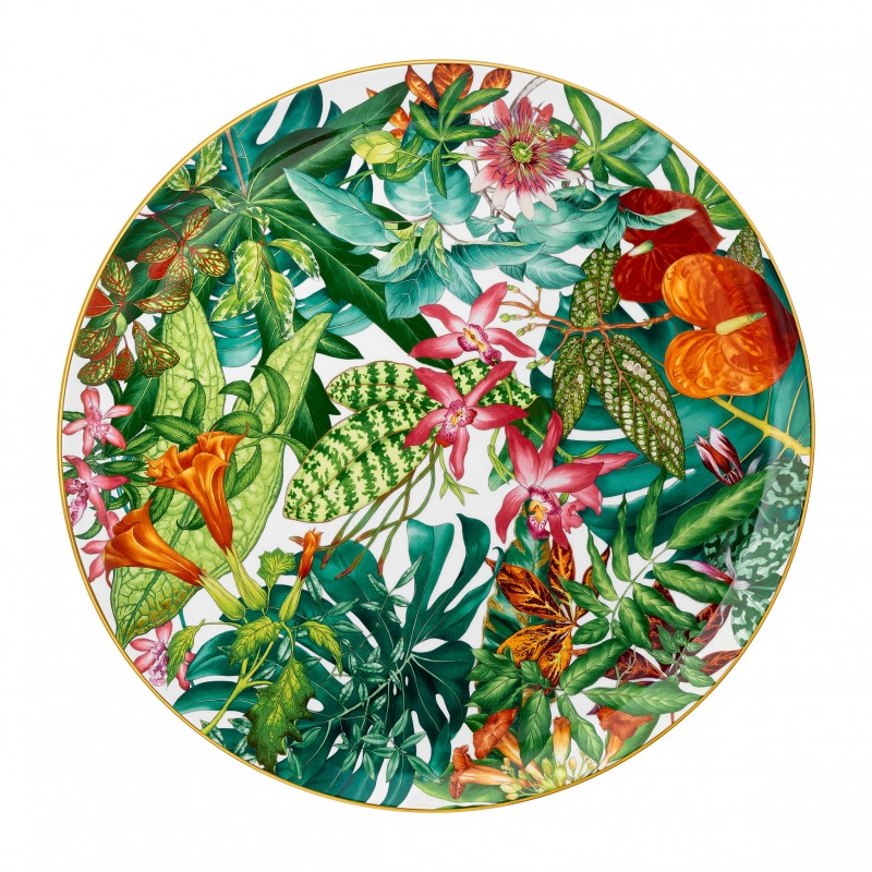 Passifolia Large Round Platter