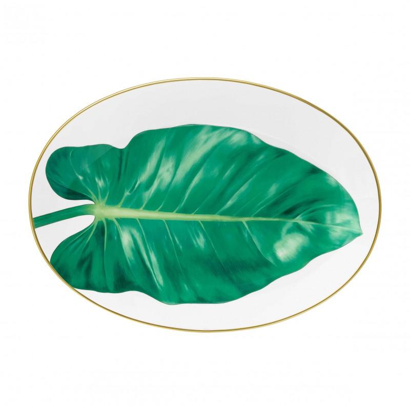 Plat Ovale Passifolia Moyen Modèle