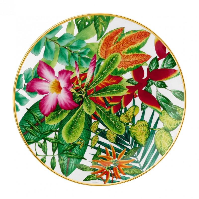 Assiette à Dessert Passifolia Motif Rose - Coffret x2