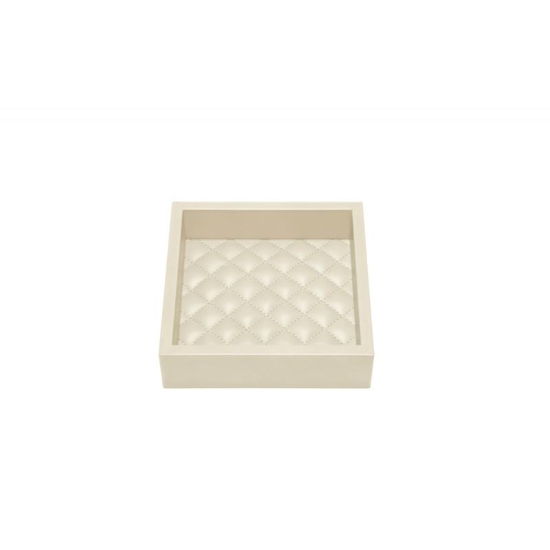 Valet Tray Ivory 15x15 cm
