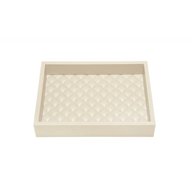 Valet Tray Ivory 18x24 cm