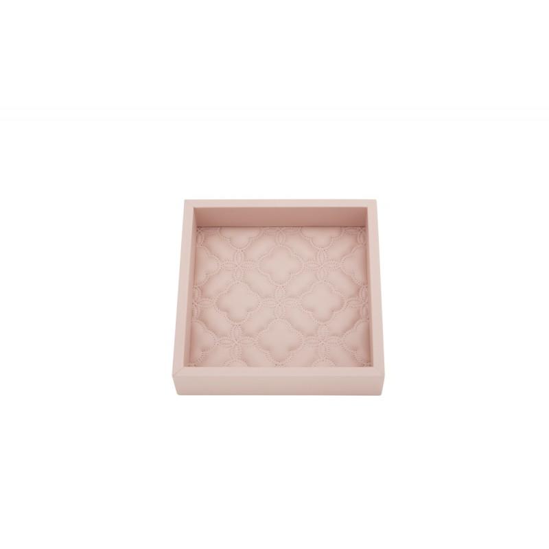 Valet Tray Pink 17x17 cm