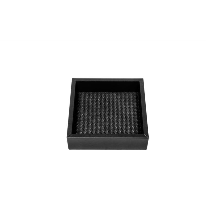 Valet Tray Black 15x15 cm