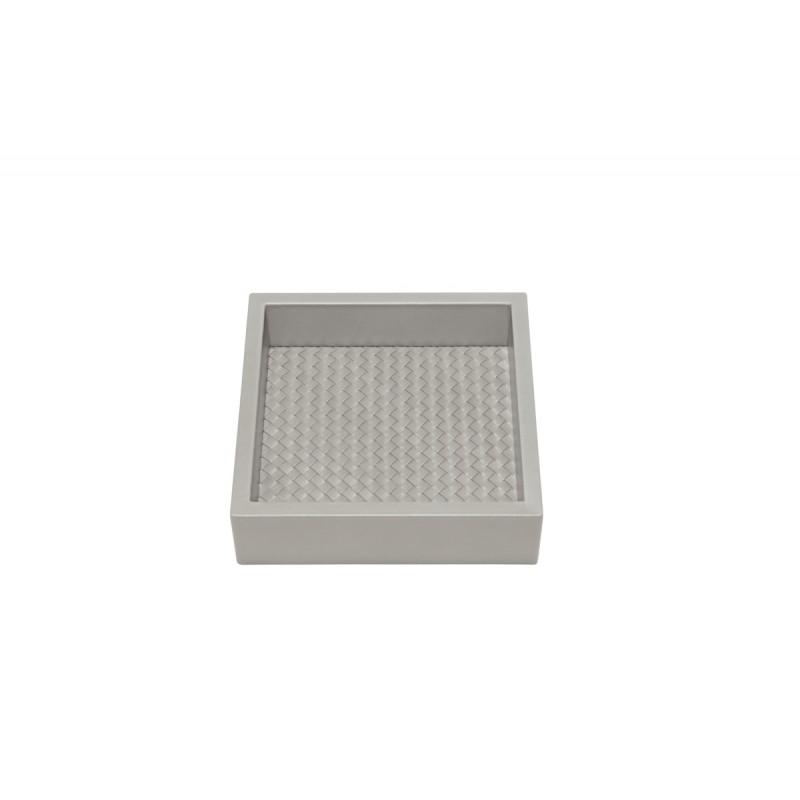 Valet Tray Grey 15x15 cm