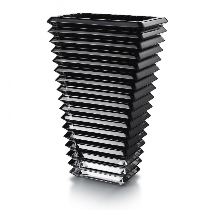 Eye Vase Rectangulaire Noir L