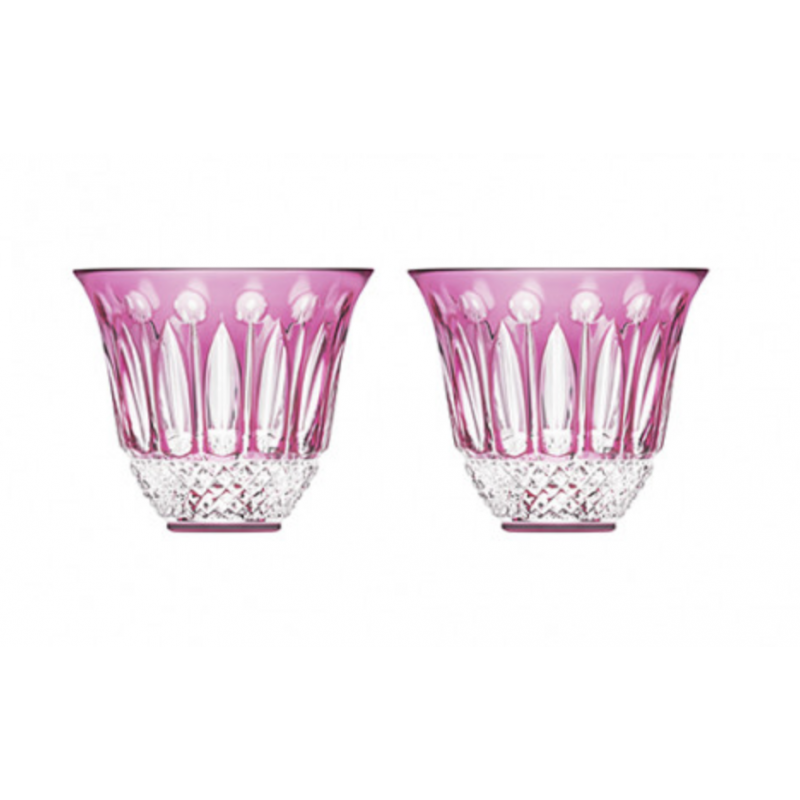 Tommy Flared Tumblers Amethyst - Set of 2