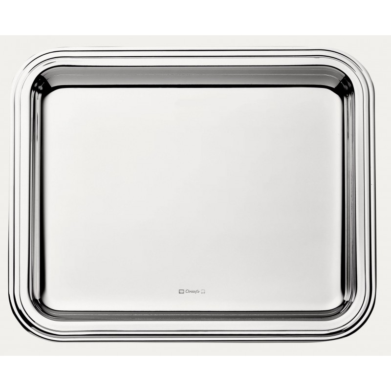 Albi Silver-Plated Rectangular Tray Small