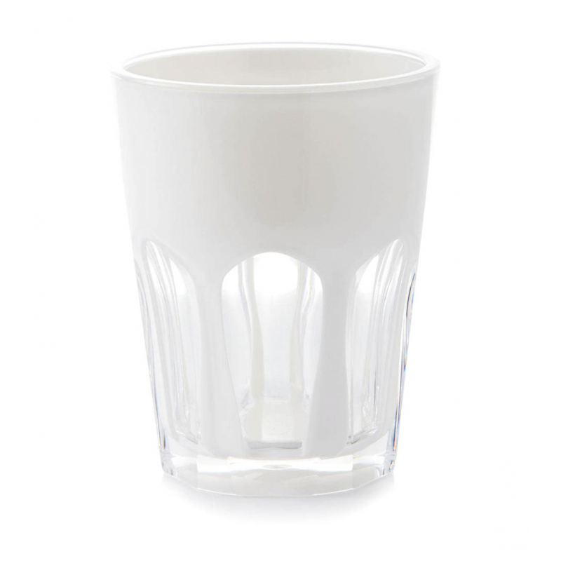 Double Face Glass White