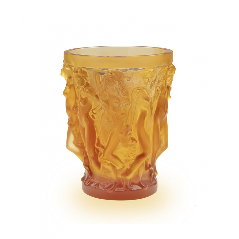 Mermaids Vase by Terry Rodgers & Lalique 2020 Amber Crystal