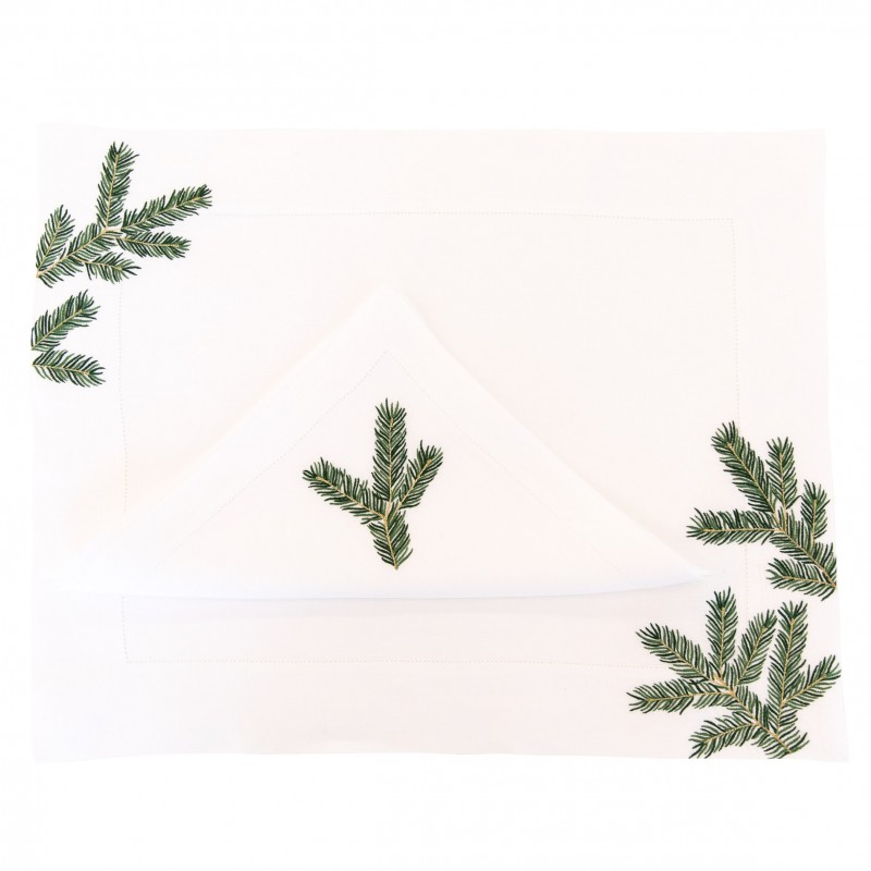 Placemat and Napkin Xmas Tree