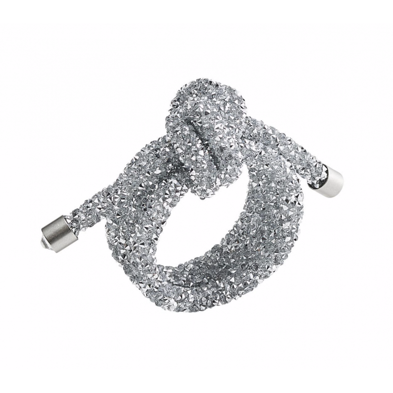 Napkin Ring Glam Knot Silver