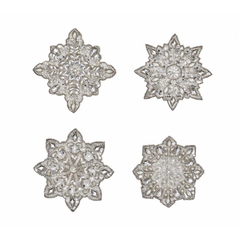 Coasters Snowflake - Set of 4