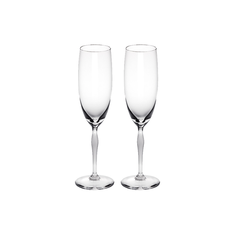 100 Points Champagne Glass Set of 2