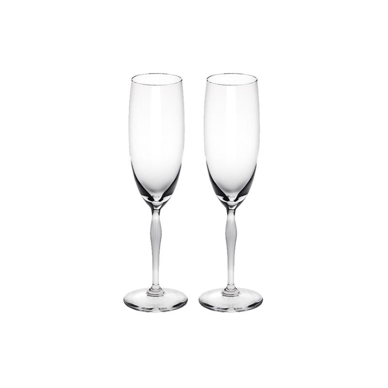 100 Points Verre à Champagne - Coffret x2
