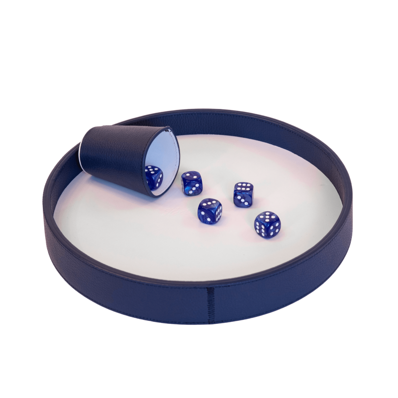 Buffle Dices Track Blue