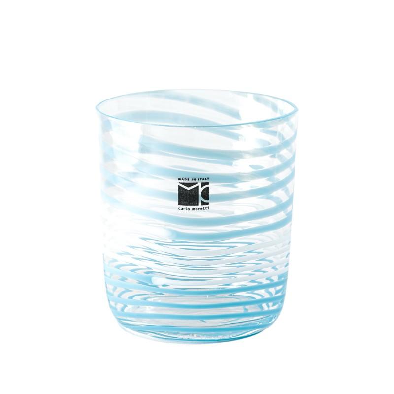Bora Glass Spirale Turquoise Sabrina