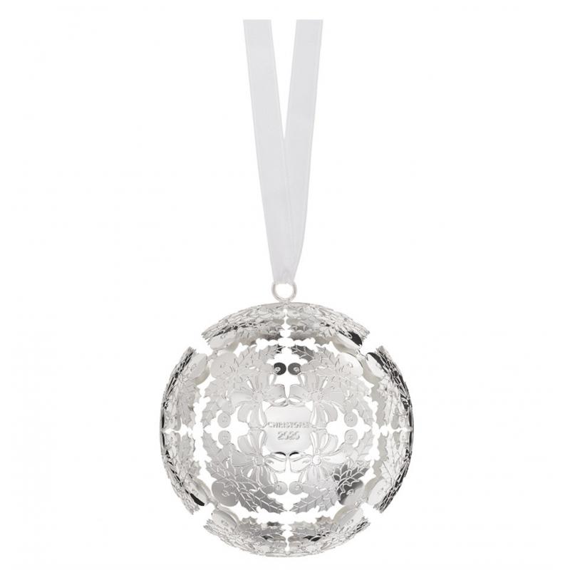 Christmas Ball Silver-Plated