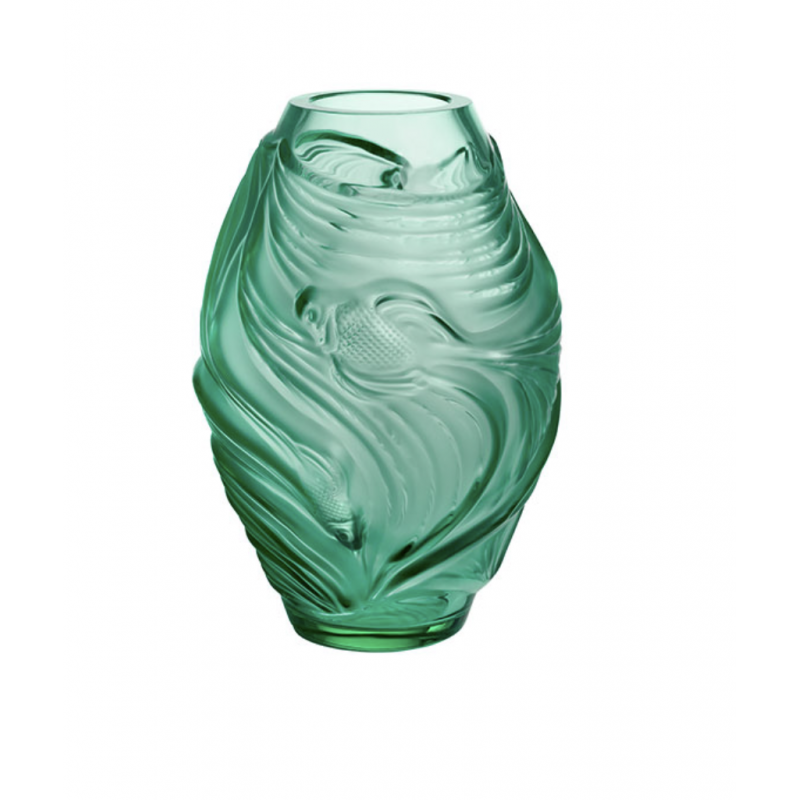 Fighting Fish Vase Small Size Mint Green