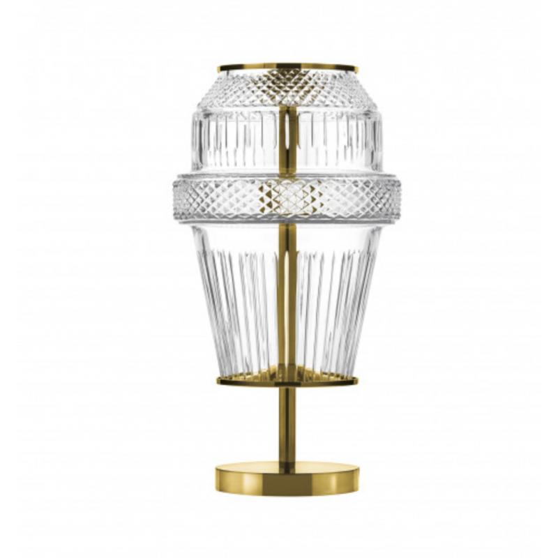 Matrice Lamp Golden Finish Small