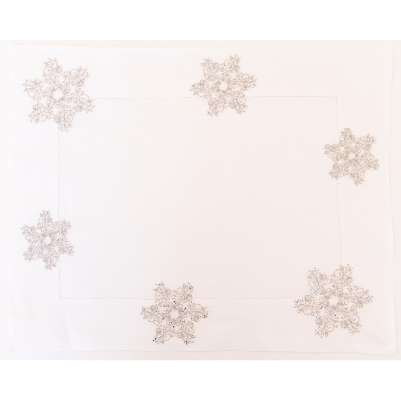 Placemat and Napkin Snowflakes