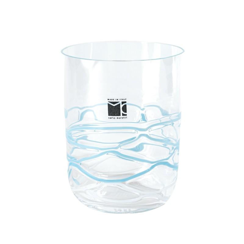 Bora Glass Rete Turquoise Sabrina Tall