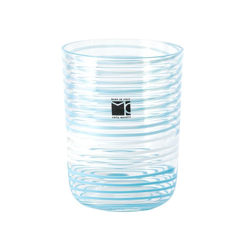 Bora Glass Spirale Turquoise Sabrina Tall