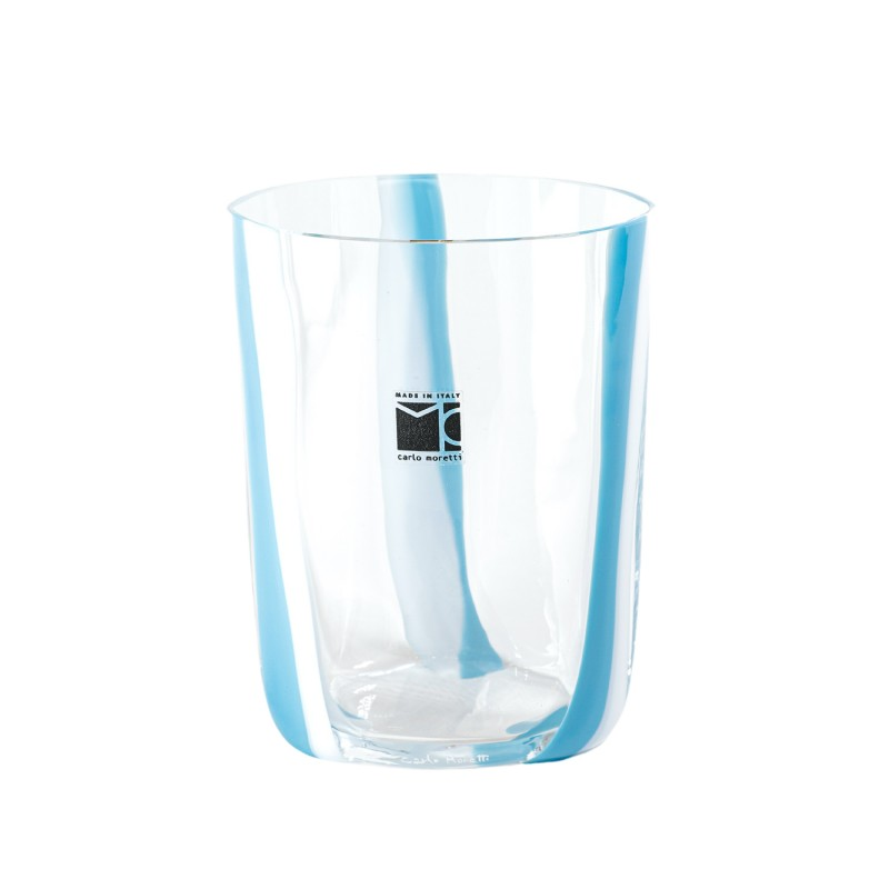 Bora Glass Fascie Lattimo Turquoise Sabrina Tall