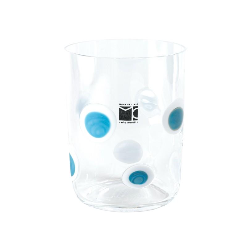 Bora Glass Bolli Turquoise Sabrina Tall