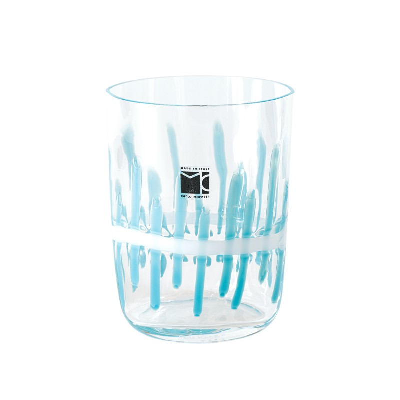Bora Glass Cannette Turquoise Sabrina Tall