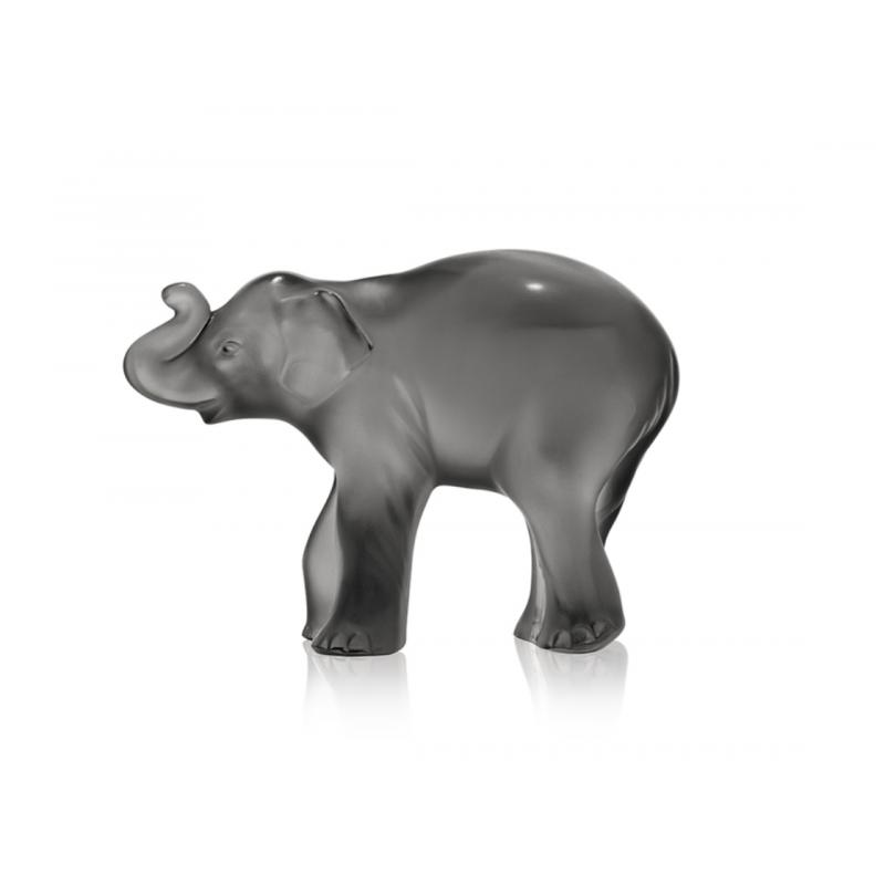 Timora Baby Elephant Sculpture Grey