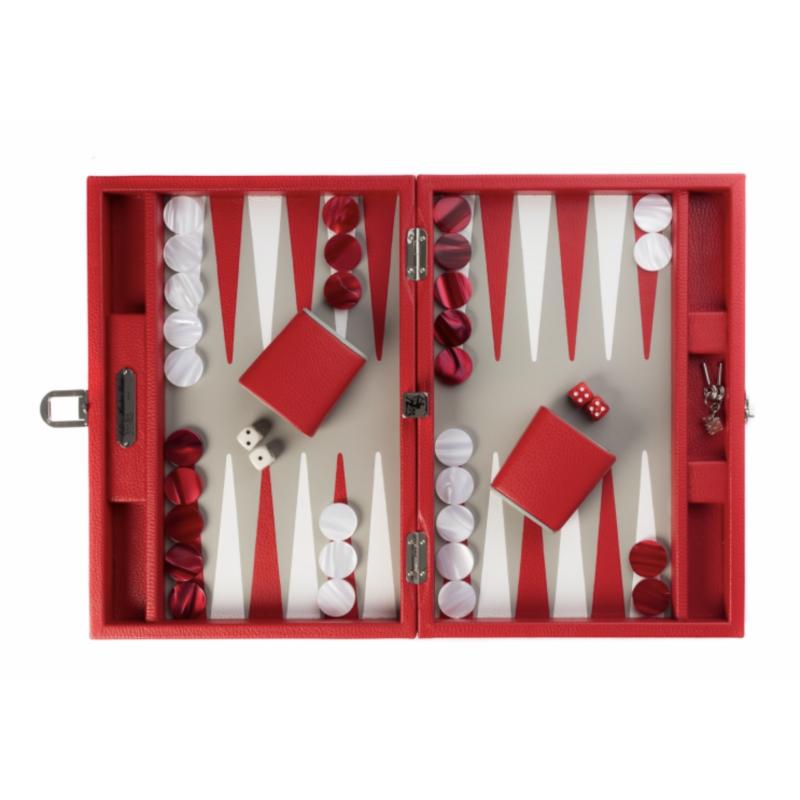 Buffalo Backgammon Medium Red