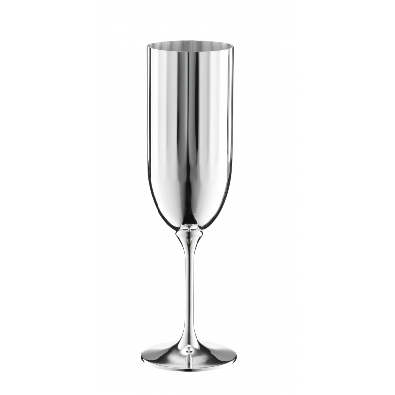 Belvedere Champagne Glass Silver-Plated