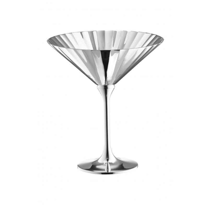 Belvedere Champagne Coupe Silver-Plated