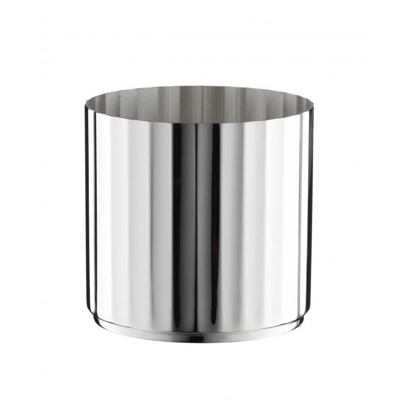 Belvedere Whiskey Tumbler Silver-Plated