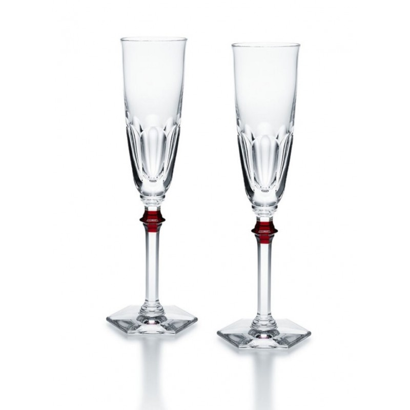 Harcourt Eve Flute Red - Set of 2