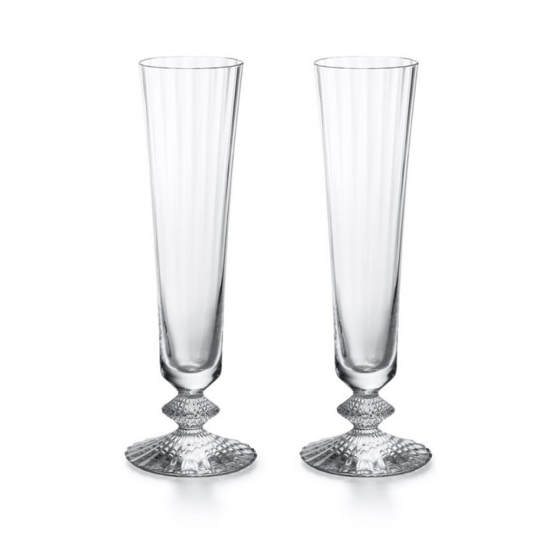 Mille Nuits Champgane Flute Clear - Set of 2