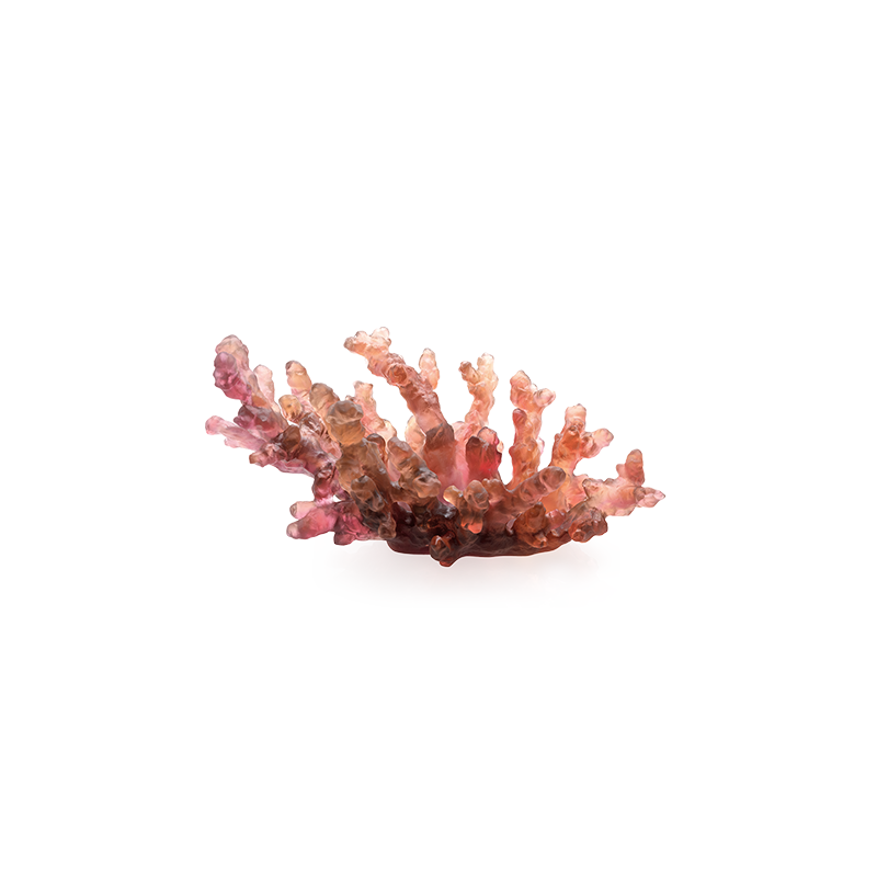 Mer de Corail Medium Bowl Amber and Red Numbered Edition
