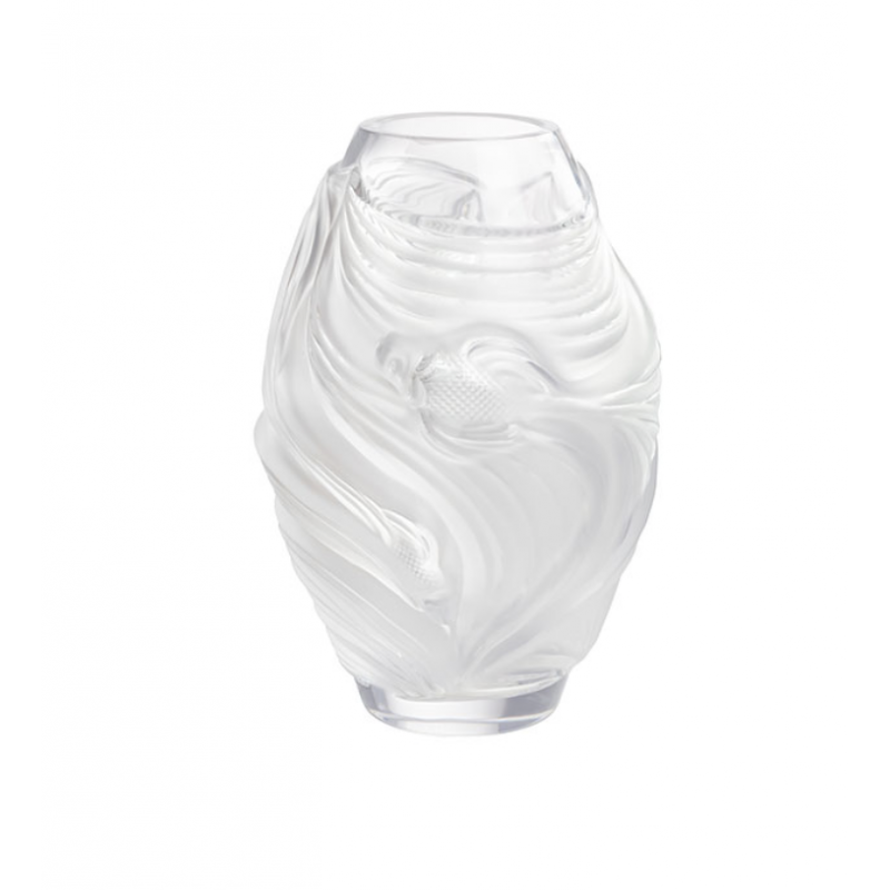 Fighting Fish Vase Small Size Clear