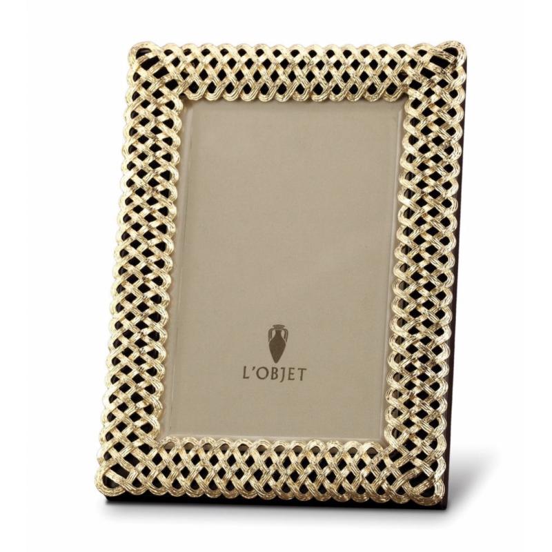Braid Plated Frame Gold - 10x15