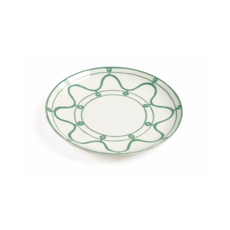 Serenity Dessert Plate Green