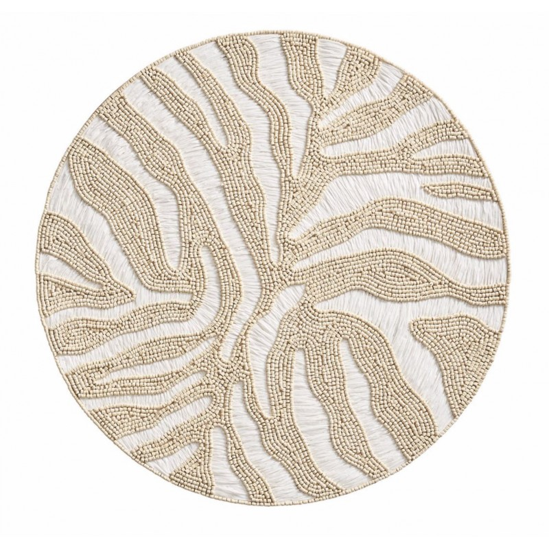 Serengeti Placemat White/Natural