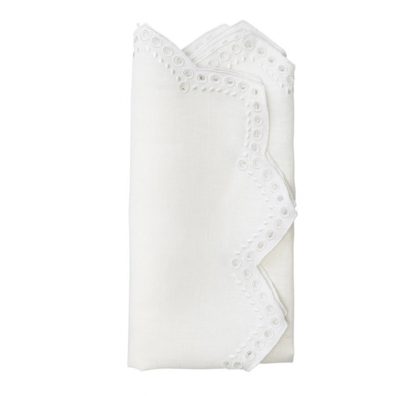 Napkin Tapestry White