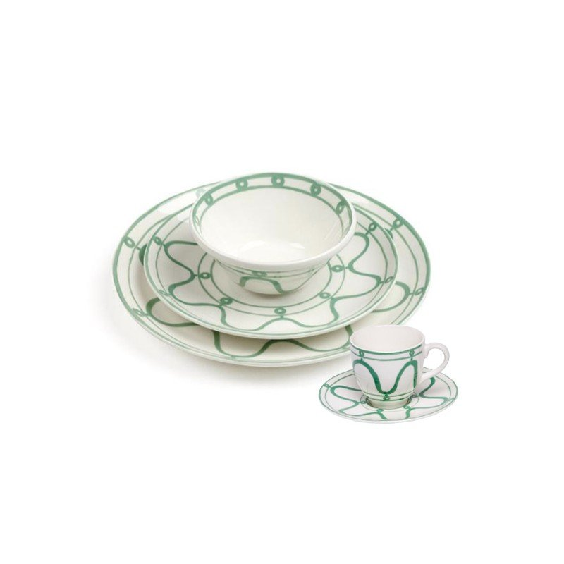 Serenity Dinner Plate Green