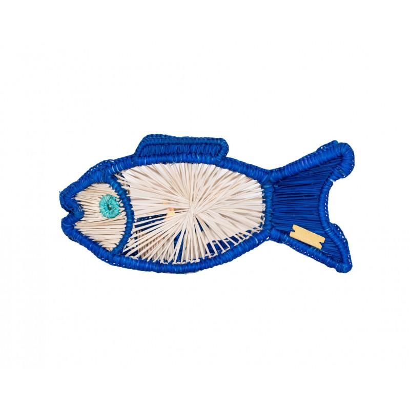 Fish Tea Light Blue