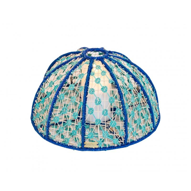 Lampe Oursin Bleu