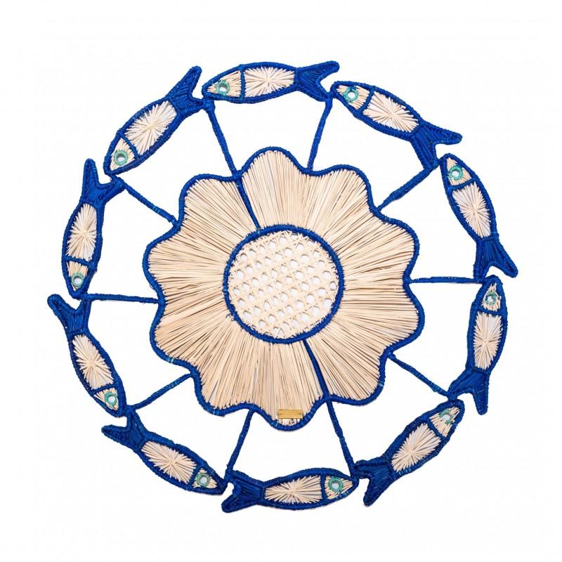 Set de Table Poisson Bleu