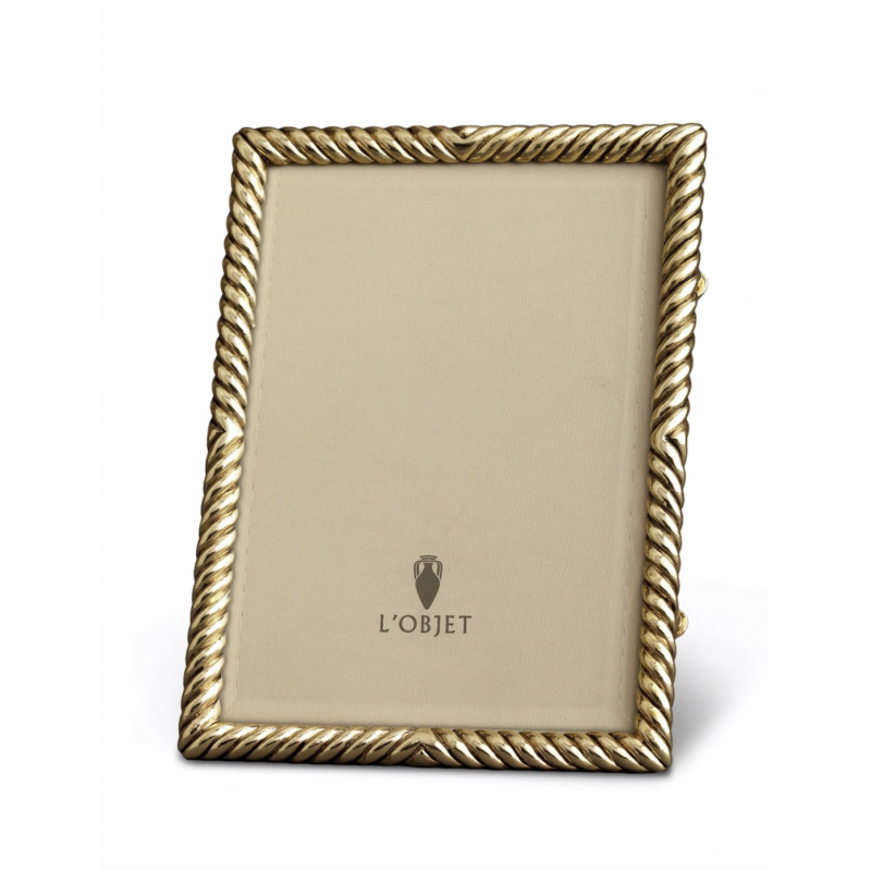 Deco Twist Plated Frame Gold 10x15