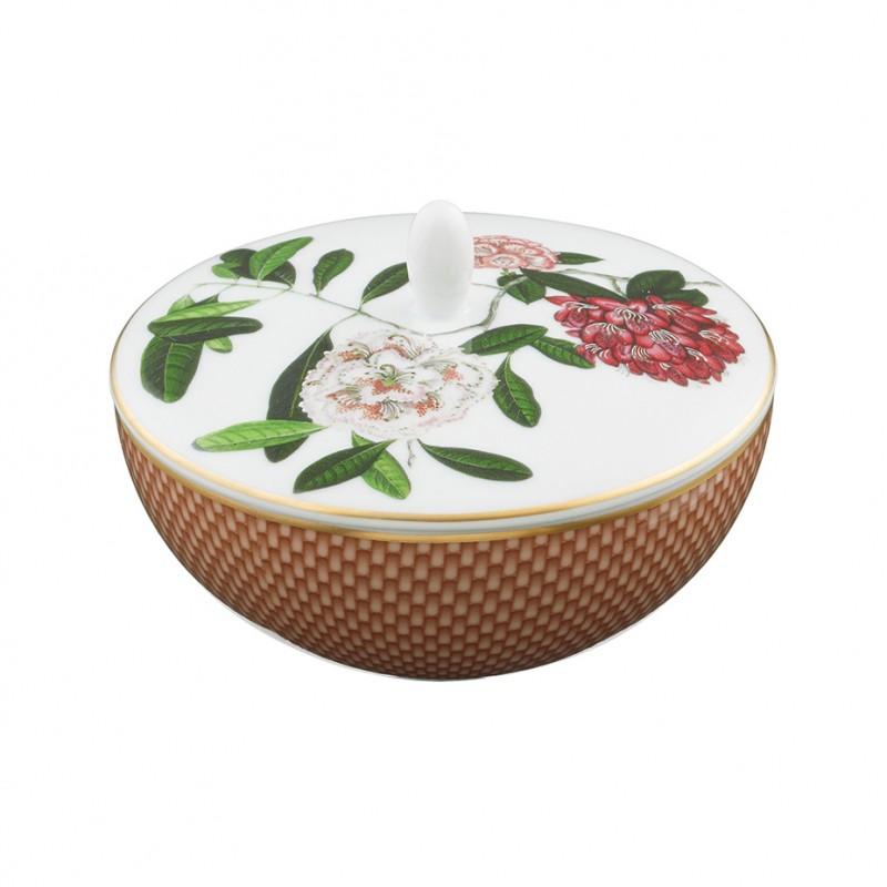 Trésor Fleuri Sugar Bowl